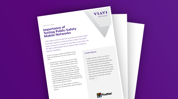 Importance of Testing Public-Safety Mobile Networks