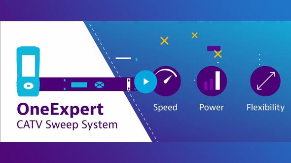 OneExpert CATV with Sweep