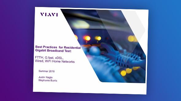 Melhores práticas para teste de banda larga Gigabit residencial: FTTH, G.fast, xDSL, rede cabeada, Wi-Fi