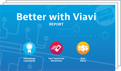 Better with VIAVI Report