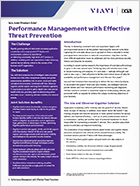 Performance Management with Effective Threat Prevention