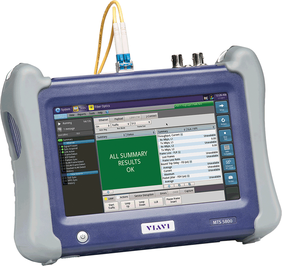 Cell Site Test Bbu Base Station Testing From Viavi Solutions Wireless Rf Network Cable Tester T Berd Mts 5800 Handheld