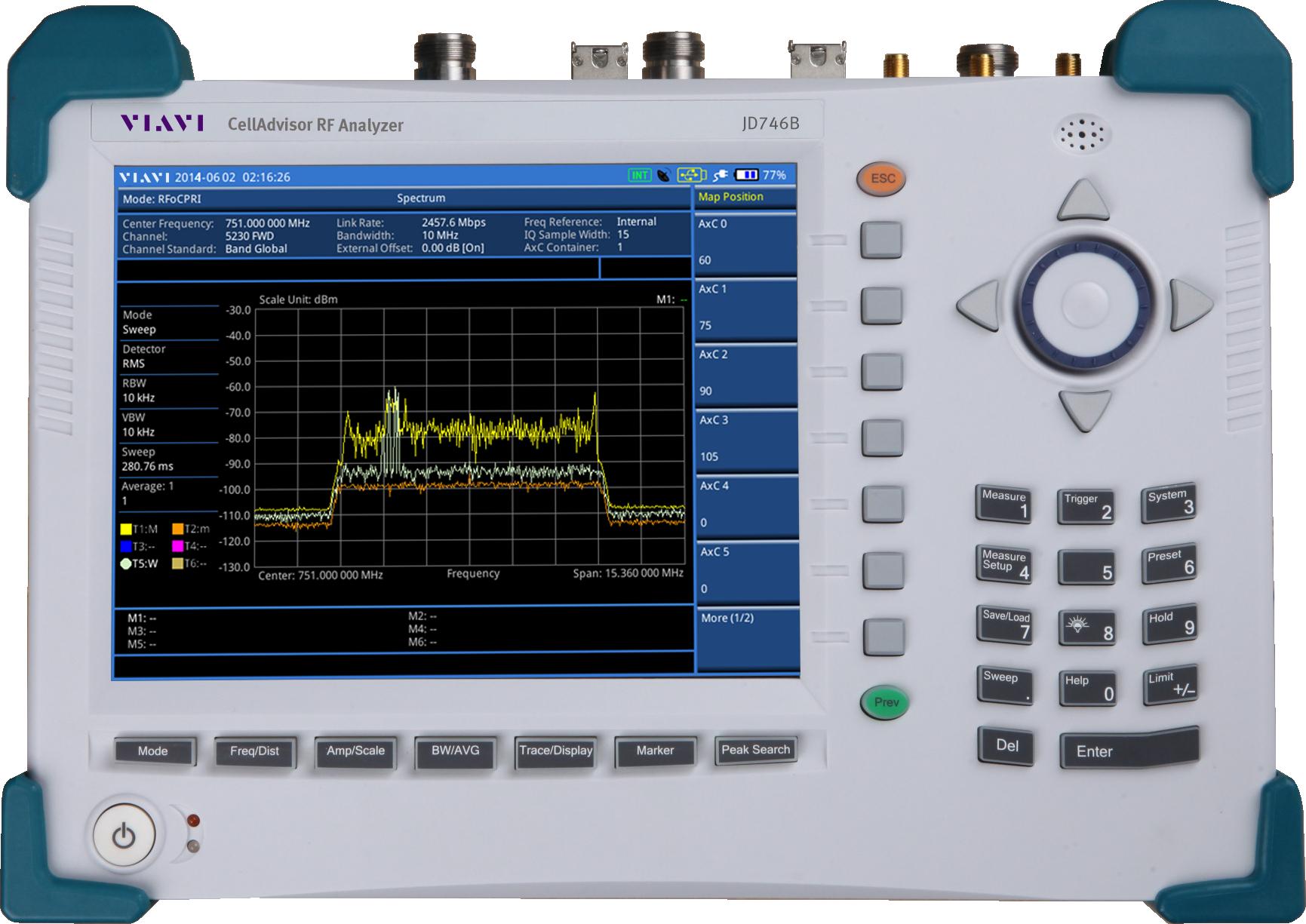 Cell Site Test Bbu Base Station Testing From Viavi Solutions Rf Network Cable Tester Celladvisor Analyzers Jd746b Jd786b