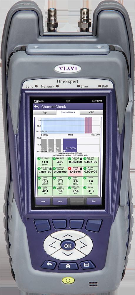 Oneexpert Catv Signal Analysis Meter Platform Viavi