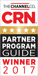 5-Star Rating in CRN's 2017 Partner Program Guide