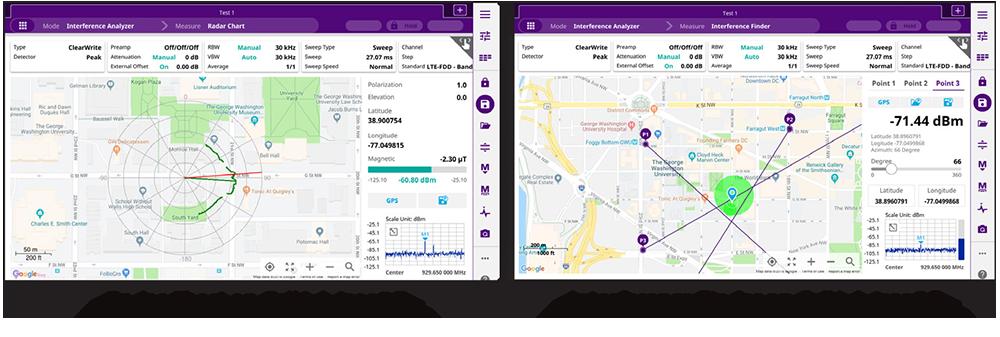Celladvisor 5G Charts