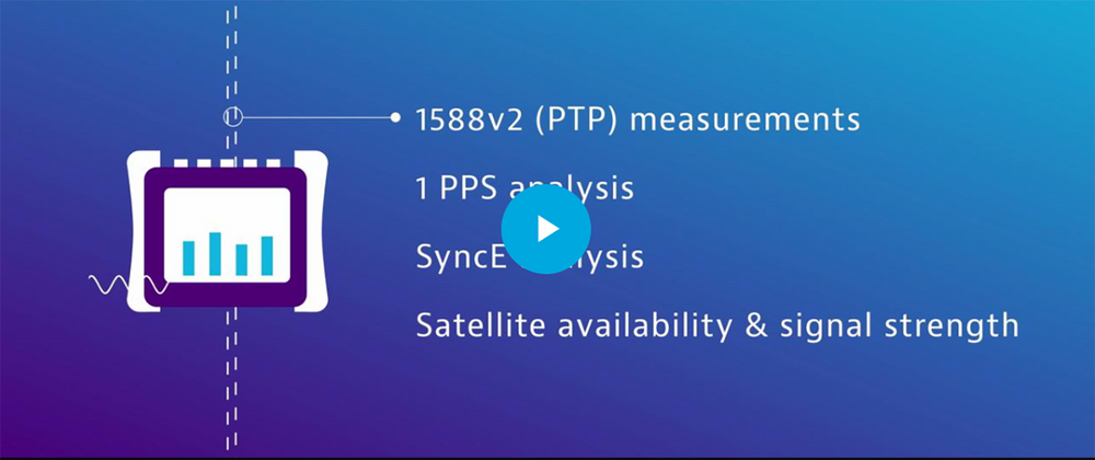 Timing and Sync in Next-Gen Networks - Video
