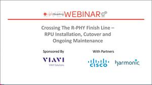 R-PHY Webinar Series - 3