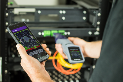 Testing fiber optic networks with VIAVI inspection equipment
