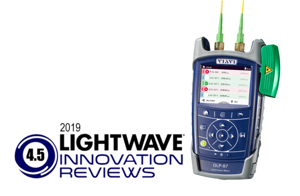 Lightwave award SmartClass Fiber OLP-87 for NG-PON2
