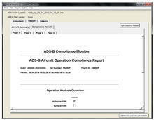 ADS-B INTEGRITY ADS-B Out Integrity Test Application
