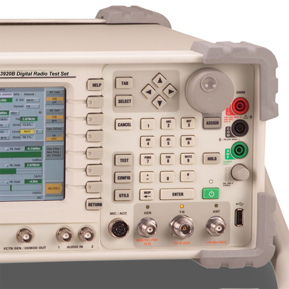 3920B Series Analog and Digital Radio Test Platform | VIAVI