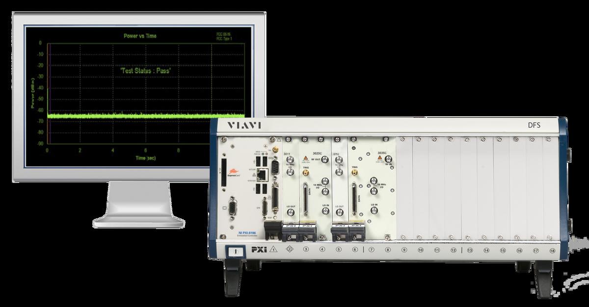 DFS Radar Simulator and Analyzer Test Suite | VIAVI Solutions Inc