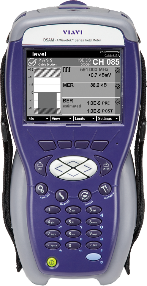 DSAM-6300 Network Maintenance Sweep Meter with DOCSIS / EuroDOCSIS