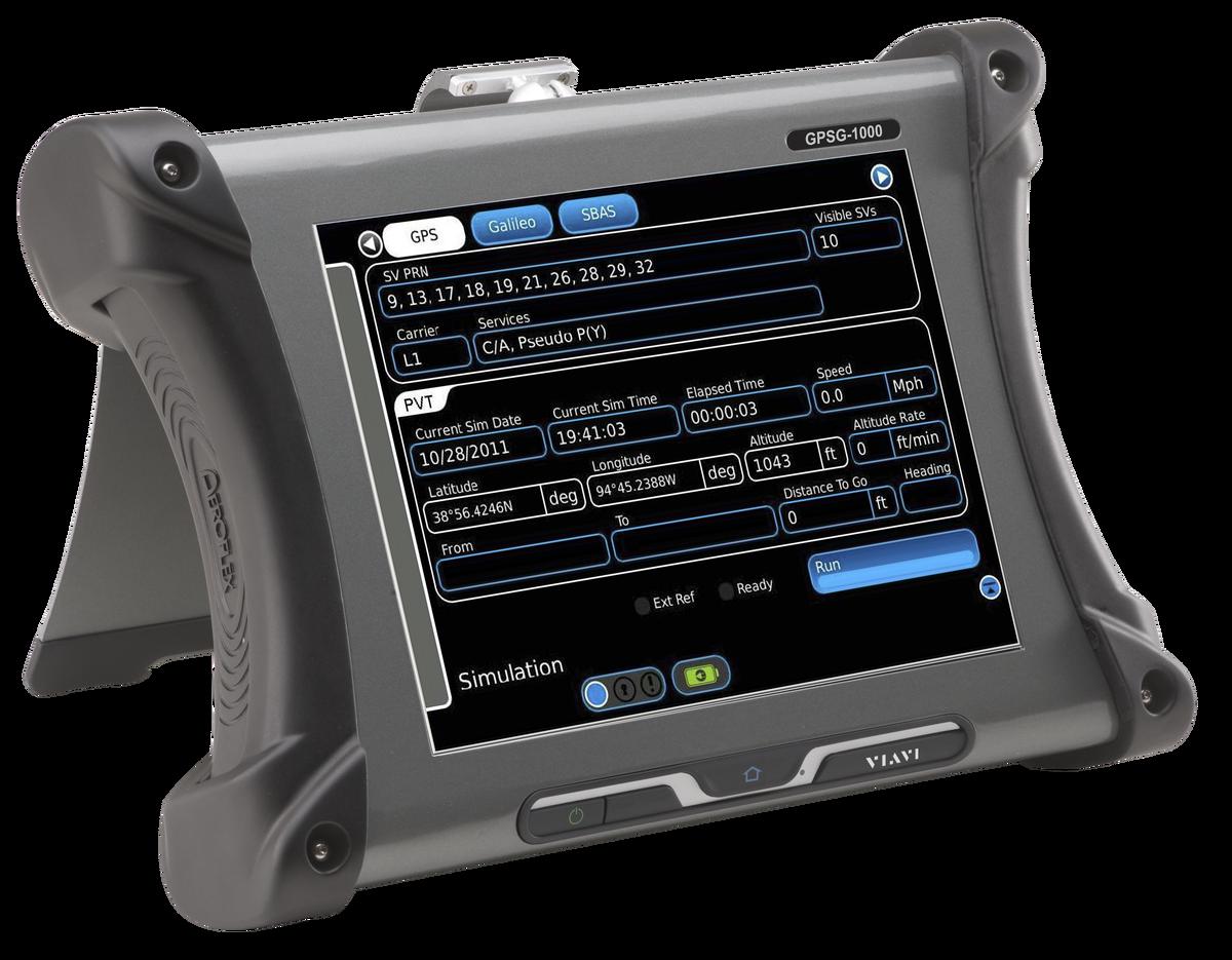 GPSG-1000 Portable Satellite Simulator   VIAVI Solutions Inc