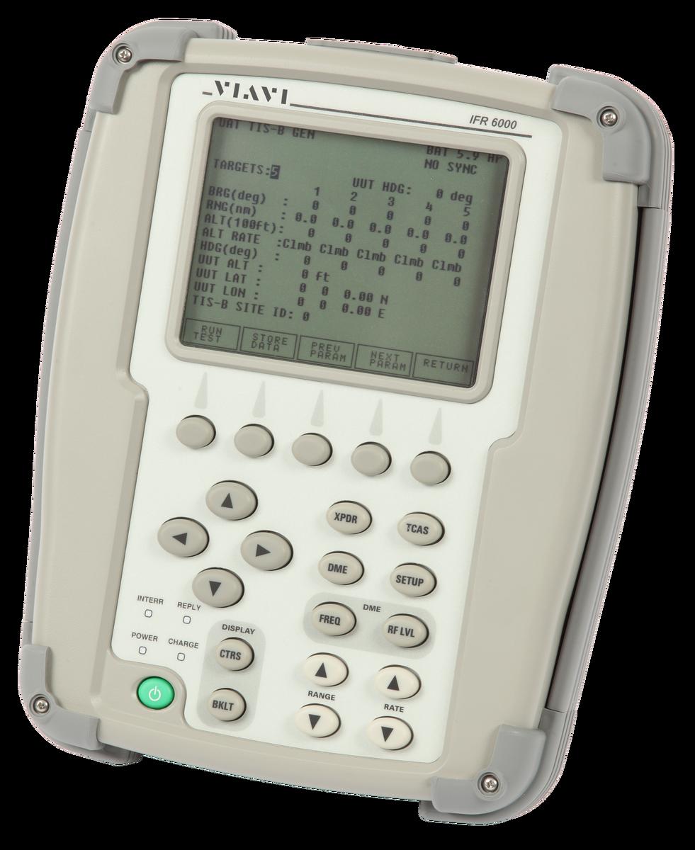 IFR6000 Transponder/DME/TCAS Flight Line Test Set | VIAVI