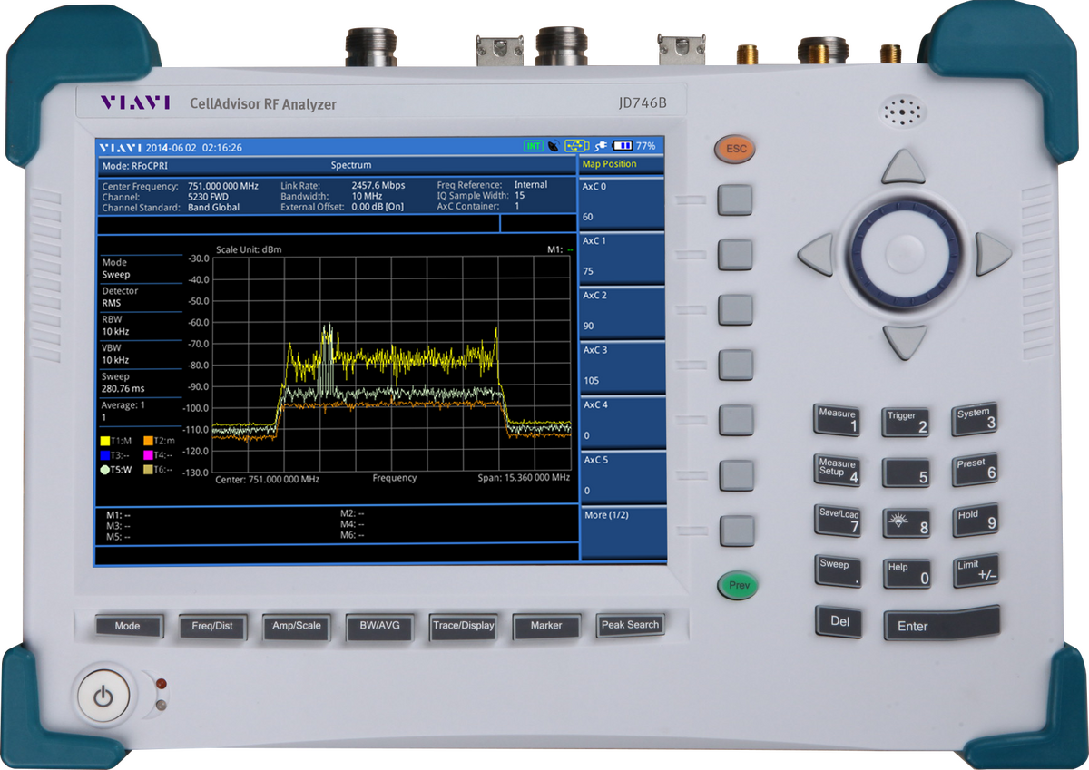 RF Analyzer - Combined Spectrum, Cable, and Antenna Analysis | VIAVI