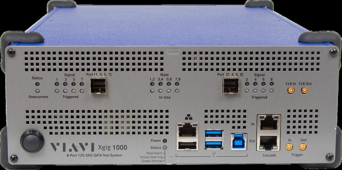 Xgig 12 G SAS Analyzer, Generator, and Jammer | VIAVI Solutions Inc