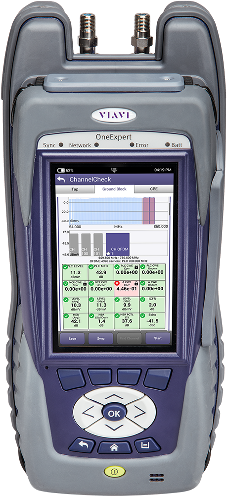 OneExpert CATV Signal Analysis Meter Platform | VIAVI Solutions Inc
