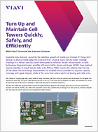 Turn Up and Maintain Cell Towers Quickly, Safely, and Efficiently