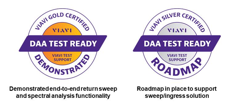 DAA Test Ready Certified